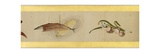 Detail of Handscroll with Miscellaneous Images  Edo Period  1839