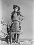 Miss Annie Oakley  Little Sure Shot  Buffalo Bill's Wild West  C1890-1900