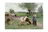 The Well Kept Cow  1890