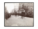 "View of Governor Theodore Roosevelt Leading Troop ""A"" in the Dewey Parade on Fifth Avenue  New…"