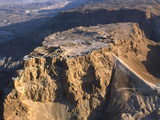 Aerial View of the Masada Plateau