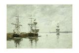 Port Scene  C1880