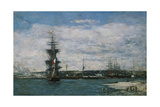 The Port of Havre  C1864-66