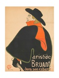Aristide Bruant in His Cabaret  1893