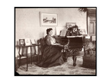 Madame Frances Saville at Home  1895