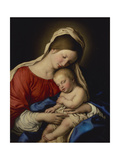 The Madonna with Sleeping Christ Child