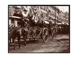 Horsepulled Artillery on Parade at Dobbs Ferry  New York  1898