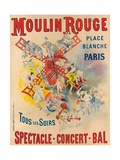Poster Advertising the Moulin Rouge  1891
