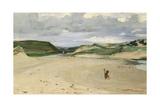 The Beach at Ambleteuse  1869