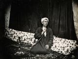 Man with Nargila  1850s