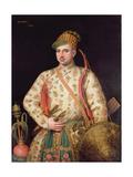Portrait of a Gentleman in Royal Mogul Costume  1738