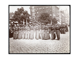 View of Women Marching in a Parade of the Daughters of the Grand Army of the Republic  New York …