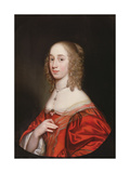 A Portrait of a Noblewoman  Half Length  1649