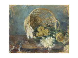 Chrysanthemums or the Overturned Basket  1885