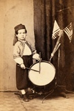 Willie Bagley  Zouave Drummer Boy  C1865