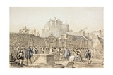 Signing the Covenant in Greyfriars Churchyard  Edinburgh in 1638  from 'The Scots Worthies…