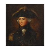 Portrait of Horatio  Lord Nelson