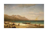 Bay of Salerno  1858