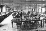 Dining Room for Employees at the Bon Marché Department Stores  Paris  C1890