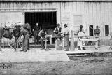 Indian Training School  Forest Grove  Oregon: Blacksmithing  1882