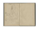 Landscape at Villefranche  from a Sketchbook  1888-89