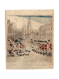 The Bloody Massacre Perpetrate in King-Street Boston on March 5th 1770 by a Party of the 29th…