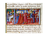 Joachim and Anne's Wedding Codex of Predis (1476) Italy