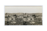 Panoramic View from the Jewish Quarter  1850s