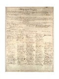 Congressional Copy of the Thirteenth Amendment Resolution  February 1 1865
