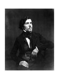 Portrait of Eugène Delacroix