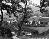 Cottages at Tarbet  Loch Lomond  C1860-80