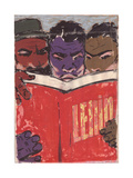 People of the Developing World Studying Lenin  C1960s