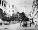Pedder Street Clock Tower  Hong Kong  C1868-71
