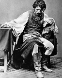 Photographic Study for the Painting 'The Last Day of a Condemned Man'  C1869