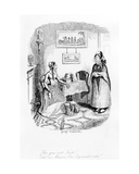 """Are You Not Irish""  Illustration from 'The Greatest Plague of Life or the Adventures of a Lady…"