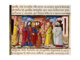 Mary Offered to the High Priests Codex of Predis (1476) Italy