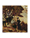 Johann Friedrich the Magnanimous  Elector of Saxony and Emperor Charles V Hunting Deer Near…