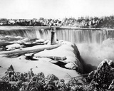 Niagra Falls in the Snow  C1850-70