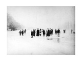 Ice Skating on the Fens  C1870-99
