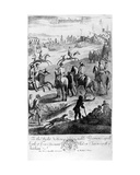 Horse Racing  from 'The Gentleman's Recreation' Published by Richard Blome  1686