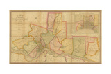 Map of the County of Philadelphia from Actual Survey  1843