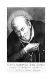 Saint Alphonsus Maria De Ligorio  Print Made by Joan Petrini