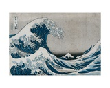 In the Well of the Great Wave  Off Kanagawa  from the Series '36 Views of MtFuji' ('Fugaku…