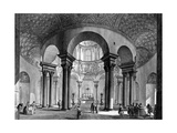 The Interior of Santa Costanza  from the 'Views of Rome' Series  1758