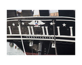 Rear of the Uss Constitution at the Uss Constitution Museum  Boston  Usa