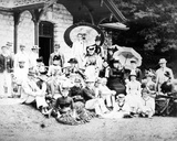 Victorian Summer Outing Group  C1890