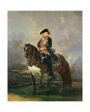 Equestrian Portrait of King Carlos IV  1800-1801
