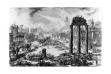 View of the Roman Forum  from the 'Views of Rome' Series  1758