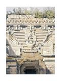 Ornament over Principal Doorway at Casa Del Gobernador  from 'Views of Ancient Monuments in…