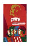 Komsomols and Lenin  C1970s